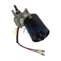 Wholesale 24 V W rpm high power DC worm geared motors for wheel or Electric garage door