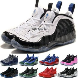 Wholesale 2016 Hot Cheap Mens Air Penny Hardaway Foamposites Galaxy Men Foams Basketball Shoes Olympic Foamposite Basket Ball Running Shoes Sneakers