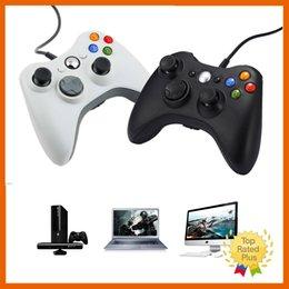 Controladores de xbox para la venta en Línea-2016 Nueva Xbox 360 Negro Blanco Un Controlador de juego remoto para PC portátil ordenador Xbox Juegos de la venta caliente