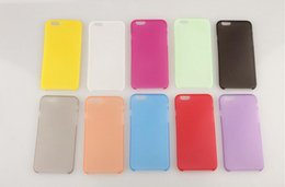 Wholesale iphone inch inch Apple Frosted MM protective Slim phone case Imported PP wear easy to clean