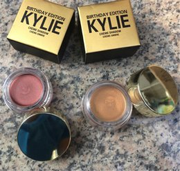 Wholesale 1pcs Newest Kylie Jenner Cosmetics Birthday Edition Creme Shadow Copper Rose Gold Hight Quality