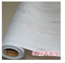 Wholesale Eco friendly waterproof door wall stickers pvc wood grain wallpaper kitchen cabinet wardrobe bookcase furniture50 CMX10M