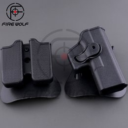 Wholesale 2016 NEW RH Pistol Magazine Paddle Holster Hunting Rotates degrees Tactical Pistol Holster