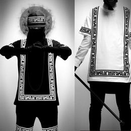 KTZ Half Sleeve Baseball Hip Hop T-shirt Religion Geometric Bandana Shirt & Short Vintage Rock Tee Shirts Pant Loose Plus Size M-5XL