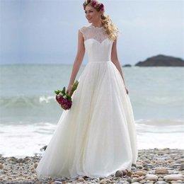 Простые платья белые в пол