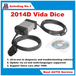 Wholesale 2016 Volvo Vida Dice D OBD2 Diagnostic Tool Vida Dice with Full Chips for Volvo