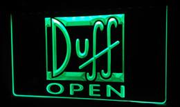 LS450-g Duff Beer OPEN Bar Neon Light Sign