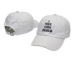 Wholesale Adjustable hats Strapback hat baseball Cap Curved Brim i feel like pablo Caps Village truck driver Hats