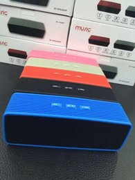 Wholesale RC BT Mini Protable Bluetooth Wireless Speakers Best Sound Super Stereo Subwoofer Mini Speakers FM TF Card U disk MP3 Player