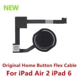 Wholesale Original New Home Button Menu Key Flex Cable Replacement Parts For iPad Air ipad