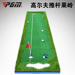 Wholesale PGM Brand Golf Mat Clubs Push Rod Indoor Putting Green Practice Training Device M X3 M Putter Artificial Turf