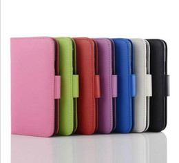 PU Leather Case Stand Wallet Style Photo Frame Phone Bag Case Cover With Card Holder For Samsung S3 4 5 6 iphone 4 5 5c iphone 6 4.7 5.5