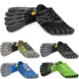 Wholesale Escalada en roca zapatos de senderismo de alta calidad seeya LS13688 cinco dedos aptitud de los hombres cinco dedos de pisos zapatillas de deporte de los zapatos de los hombres FiveFingers
