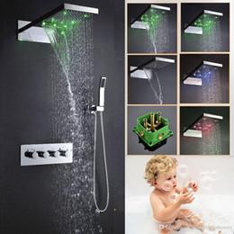 grandes duchas de lluvia cascada en venta mm llev ducha conjunto
