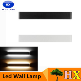 Wholesale New Modern W W W W W W Led Wall Lamps Aluminum Acryl lamp V V mirror light for bedroom living room stair bathroom