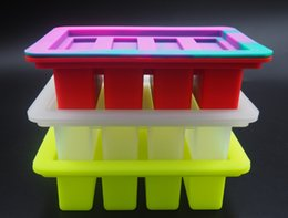 Wholesale Quality Butter Mold Rectangle Silicone Mold For Soap Bar Winkie Energy Bar Muffin Brownie Cornbread Cheesecake Pudding