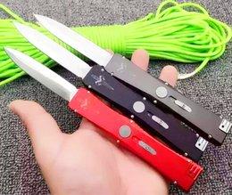 Wholesale 3 models Microtech halo knife Nemesis IV VI Troodon knives Marfione single action Satin Dagger folding pocket knife