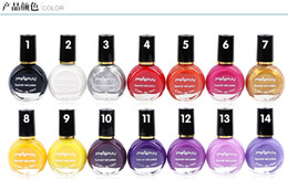 Wholesale New Arrival Metallic gel Mirror nail polish colors ml Hot Sale