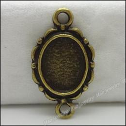 Wholesale 100 Vintage Charms Picture frame Pendant Antique bronze Fit Bracelets Necklace DIY Metal Jewelry Making