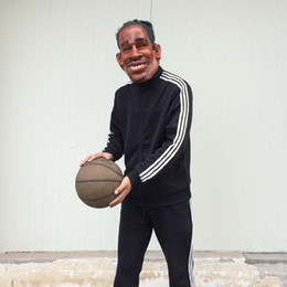 Wholesale Cosplay Kobe Bryant Mask Carnival Latex Mask basketball player Kobe Fans Costume sports star fans Mask mardi Gras Party Mask