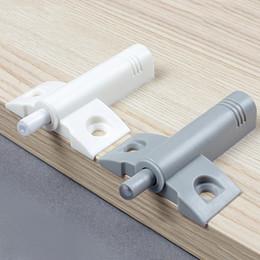 Wholesale Small Plane Damper buffer Bumper Cabinet Door stops Dresser DrawerDrawer Soft Quiet Close Closer Gray White
