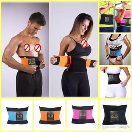Wholesale 2016 Newest Women Men Sports Waist Trainer Training Xtreme Power Belt Spine Recover Belt Shaper Adjustable Back Support Breathable