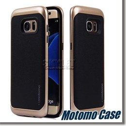 Wholesale Motomo For iPhone Hybrid Case In Soft TPU And PC Bumper Shockproof Back Cover Case For Iphone Plus Galaxy Note With OPP Package