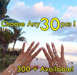 30pcs lot High Quality Flash Tattoos Non-toxic Temporary Tattoo Metallic Jewelry Tattoos Choose From Over 300 Styles!