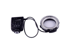Meike FC100 LED Macro Anillo Luz de flash para Canon 650D 7D 5DII 60D 50D cámara DSLR desde meike flash de la cámara fabricantes