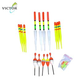 Wholesale Hot in vertical buoy fishing floats Night Vision Battery Bobber Luminous Float Fishing Tackle articulos de pesca