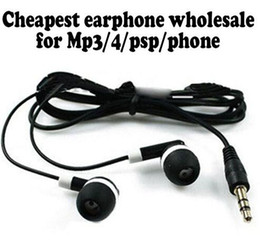 Cheapest disposable earphones headphone headset for bus or train or plane one time use Low Cost Earbuds For School,Hotel,Gyms 1000pcs lot