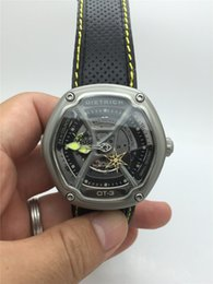 AAA quality Dietrich Organic Time OT-3 Brand Watch Automatic Mechanical Men Fashion Watches with Leather Original Strap