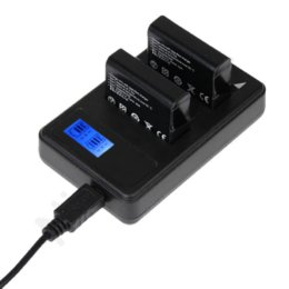 NI5L AHDBT-401 cargador de doble LED USB GoPro +2 PC batería para Hero GoPro 4 1600mA envío gratuito desde usb gopro fabricantes