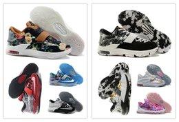 2017 kds blanc KD 7 VII Blanc / Noir / Or Sneakers, KD 7 VII 2015 Nouvelle Arrivée KD7 Hommes Chaussures de basket-ball à vendre kds blanc offres