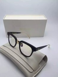 Wholesale GM UNION retro big frame decorative frame retro sheet glasses Female Male plain little face block frames