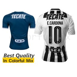 Wholesale 16 Monterrey Jerseys Mexico W GARGANO R FUNES MORI D PABON USA Occupation League Monterrey Top Thai Quality football uniforms Shirts