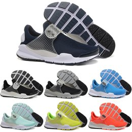 Wholesale 2016 Running Shoes Sock Dart SP Fragment Men Women High Quality Authentic Sneakers Cheap Walking Online Sports Shoes Size