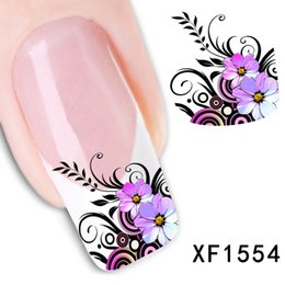 Wholesale Watermark nail stickers nail sticker fashion long section of atmospheric styles arbitrary choice