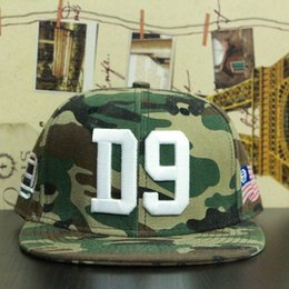 Wholesale New Arrival D9 Reserve Bold Camo Snapback Hats Fashion Men Womens Snapbacks Caps military cap hat styles
