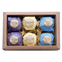 Wholesale Art Naturals Bath Bombs Gift Set Ultra Lush Essential Oil Handmade Spa Bomb Fi