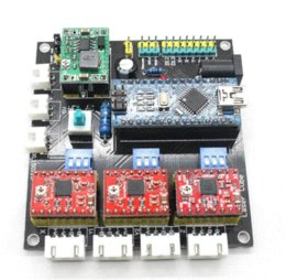 Wholesale USB CNC axis stepper motor controller board mini laser engraving machine laser CNC Dashboard control board