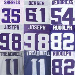 Wholesale Eric Kendricks Jersey Joe Berger Kyle Rudolph Laquon Treadwell Linval Joseph Marcus Sherels American Football Jerseys Elite sport