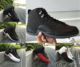 Wholesale 2016 air retro basketball Shoes wool ovo white GS Barons Wolf Grey Flu Games Gym red TAXI Playoffs University blue boots Sneaker