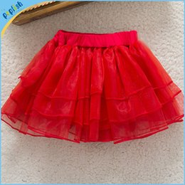 Wholesale Cute Babies Skirt - New Arrivals Cute Baby Kids Girl Children's Princess Ballet Tutu Skirts Pettiskirt Polyester Net Yarn Glitter Dance Skirt Free Shipping