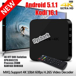 Wholesale Mxq android tv box kodi Mxq k GB GB RK3229 Quad Core Support K bit fps H Video Decoder HDMI WIFI Miracast DLNA