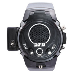 Wholesale Children s watch gift Anime Detective Conan watch with record function laser light clamshell toy Colors