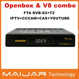 Wholesale high quality Europe combo receiver openbox V8 combo much better than Amiko mini combo
