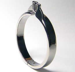 Stainless Steel Cock Rings Metal Cock Cage Bondage Gear For Men Penis Ring BDSM Toys Chastity Cage Sex