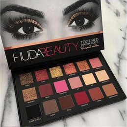 Wholesale Makeup Huda Beauty eyeshadow palette colors eye shadow shimmer smoky revolution huda eyeshadow high quality DHL free