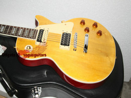 New Arrival Custom Lemon Burst Custom Shop Electric Guitar with case OEM Available HOT Chinese guitar